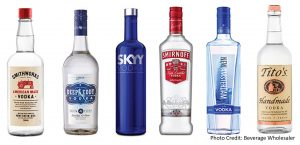 Examples of Vodka available in the USA