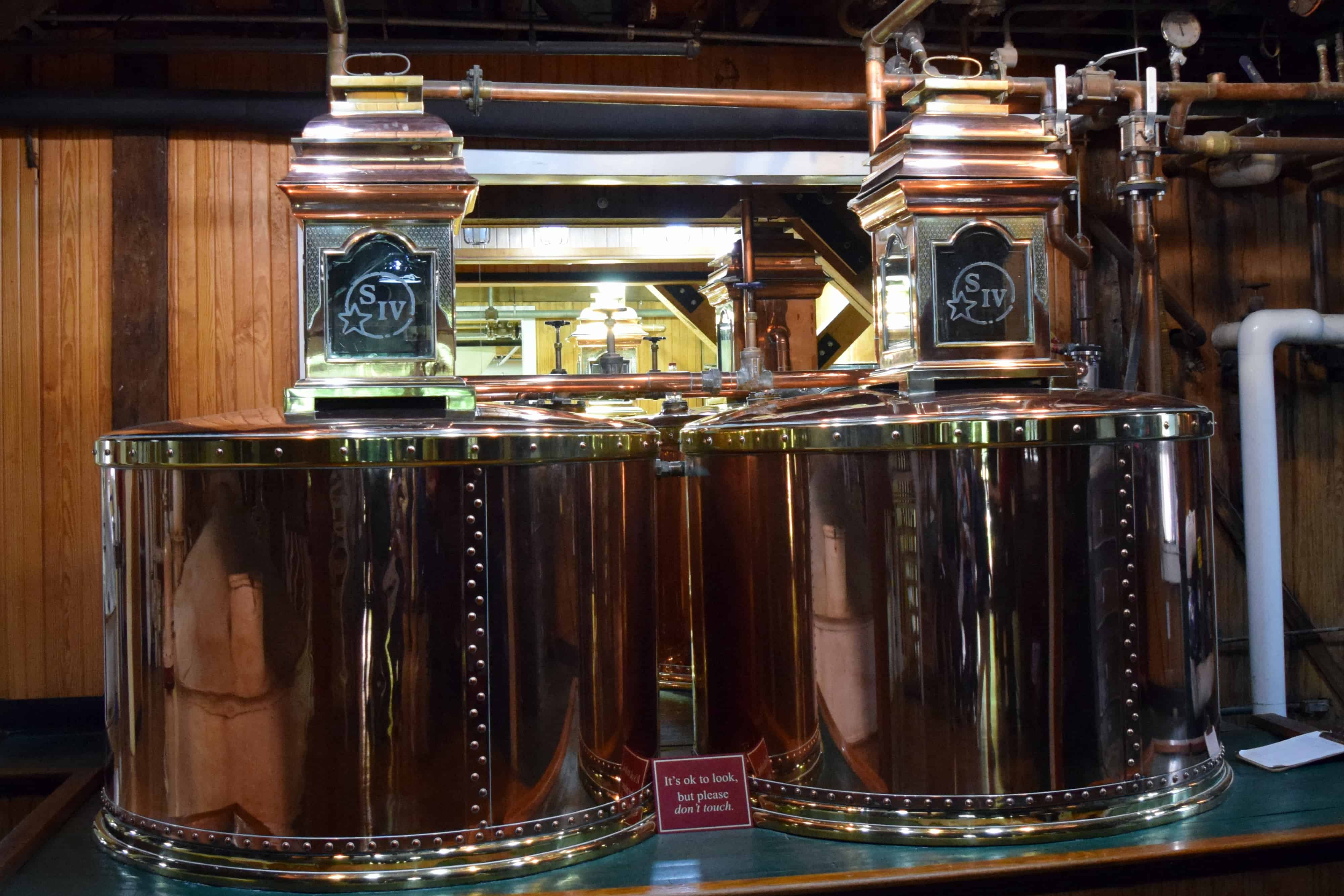 Spirits safes at Maker's Mark